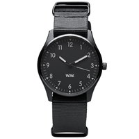Wood Wood Ww Military Watch Black