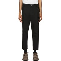 Song For The Mute Black Pleated Trousers