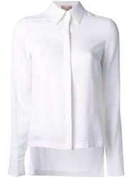 Michael Kors Side Slit Shirt White