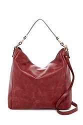 Urban Expressions Brynn Faux Leather Hobo Red