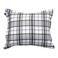 Gant Hucker Check Pillowcase Grey