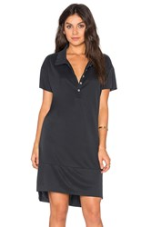 Nation Ltd. Andy Polo Dress Black