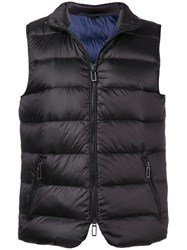 Paoloni Quilted Gilet Black