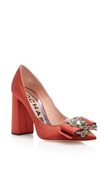 Rochas Pompei Pump Orange
