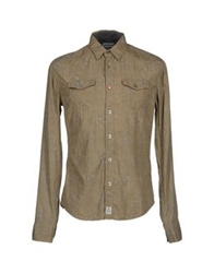 Meltin Pot Shirts Khaki