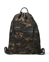 Michael Kors Kent Camo Printed Backpack Army
