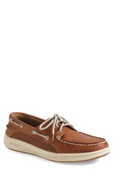 Sperry Men's 'Gamefish' Boat Shoe Cognac Leather