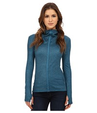 Burton Negani Fleece Pacific Heather Women's Fleece Blue