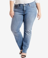 Levi's Plus Size 415 Relaxed Fit Bootcut Jeans Ocean Stroll