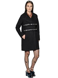 N 21 Double Breasted Wool Cloth Coat