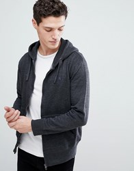 French Connection Zip Through Hoodie Grey