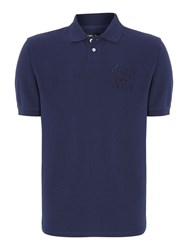 Army And Navy Lawson Pique Polo Dark Navy