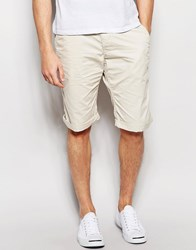 Esprit Chino Shorts In Straight Fit Light Beige