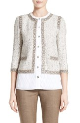St. John Women's Collection Kira Tweed Jacket