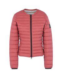 Ecoalf Down Jackets Brick Red