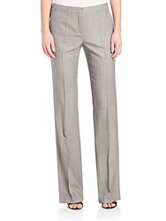 Boss Tulea4 Mid Rise Dress Pants Grey