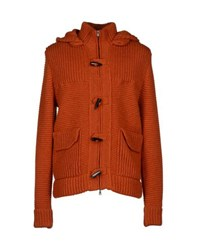Ballantyne Knitwear Cardigans Men Rust