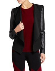 Bcbgmaxazria Abree Relaxed Jacket Black