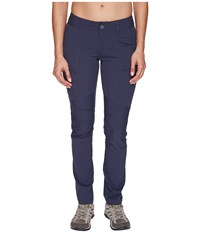Columbia Silver Ridge Stretch Pants India Ink Women's Casual Pants Gray
