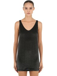 Wolford Wilma Tank Top Black Silver