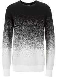 Marcelo Burlon County Of Milan Degrade Pixel Sweater Black