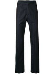 Tonello Straight Leg Trousers Blue