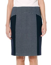 Laundry By Shelli Segal Paneled Pencil Skirt