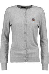 Love Moschino Knitted Cardigan Gray