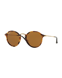 Vintage Tortoise Round Sunglasses Ray Ban