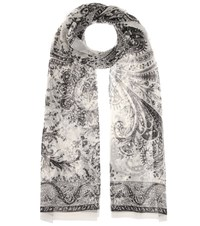 Etro Silk Scarf Black