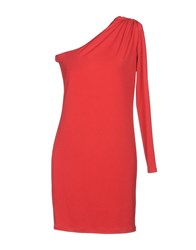 Guess By Marciano Short Dresses Red