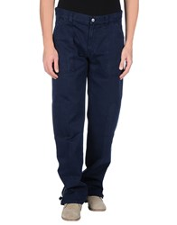 Brooksfield Trousers Casual Trousers Men Dark Blue