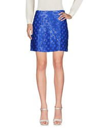 Le Ragazze Di St. Barth Mini Skirts Bright Blue