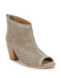 Charles By Charles David Unify Peep Toe Ankle Boots Cuoio
