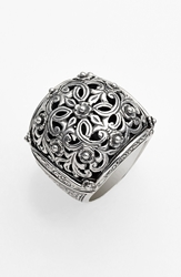 Konstantino 'Classics' Filigree Dome Ring Silver