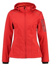 Cmp F.Lli Campagnolo Soft Shell Jacket Ferrari Red