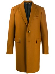 Versace Single Breasted Coat 60
