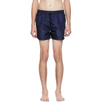 Paul Smith Ssense Exclusive Navy Saturn Swim Shorts