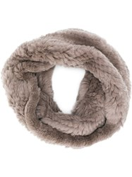 Yves Salomon Snood Scarf 60