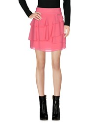Maison Espin Mini Skirts Pink