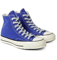 Converse 1970S Chuck Taylor All Star Wool High Top Sneakers Royal Blue