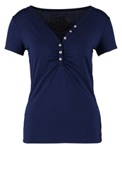 Morgan Dide Basic Tshirt Marine Dark Blue