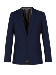 Paul Smith Soho Wool Blend Suit Jacket Navy