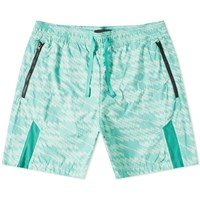 Stone Island Shadow Project Printed Swim Short Green