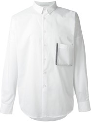 Lucio Vanotti Patch Pocket Shirt White