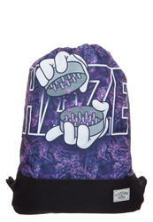 Cayler And Sons Haze Rucksack Black Purple Budz