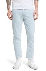 Obey Men's New Threat Skinny Fit Cut Off Jeans