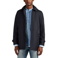 Moorer Ravel Tech Gabardine Raincoat Navy