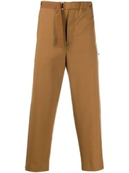 Oamc Tapered Leg Cropped Trousers 60