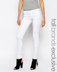 Noisy May Tall Extreme Lucy Soft Jeans White